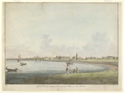 General view of Calcutta taken from near the sluice of Fort William